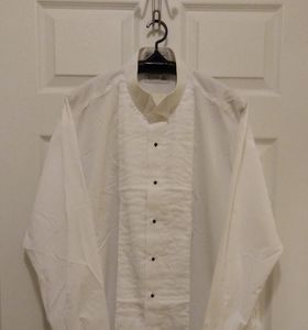 Chaplin texedo shirt NWOT